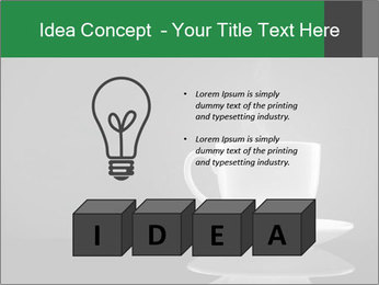White Coffee Cup PowerPoint Templates - Slide 80