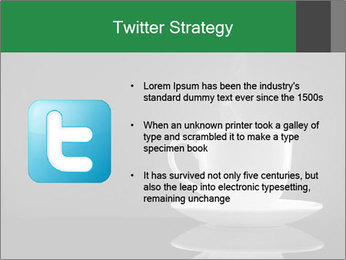 White Coffee Cup PowerPoint Templates - Slide 9