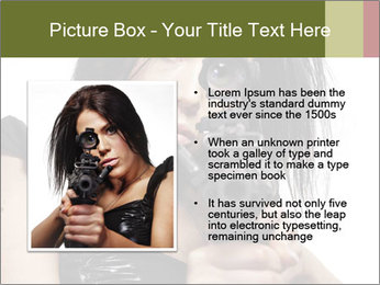 Woman Sniper PowerPoint Templates - Slide 13