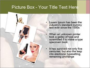 Woman Sniper PowerPoint Template - Slide 17