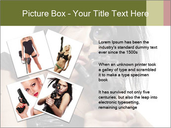 Woman Sniper PowerPoint Templates - Slide 23