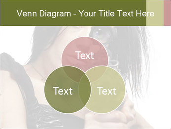 Woman Sniper PowerPoint Templates - Slide 33