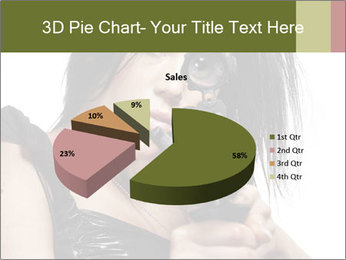 Woman Sniper PowerPoint Templates - Slide 35
