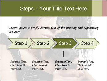 Woman Sniper PowerPoint Template - Slide 4