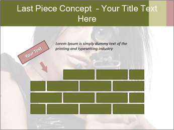 Woman Sniper PowerPoint Templates - Slide 46