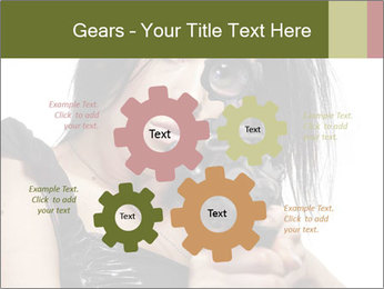 Woman Sniper PowerPoint Templates - Slide 47