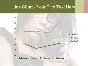 Woman Sniper PowerPoint Templates - Slide 54