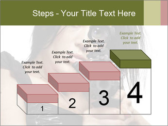 Woman Sniper PowerPoint Templates - Slide 64
