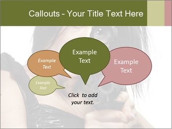 Woman Sniper PowerPoint Templates - Slide 73