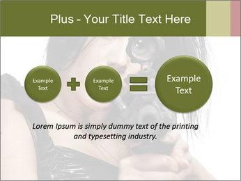 Woman Sniper PowerPoint Template - Slide 75