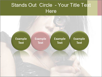 Woman Sniper PowerPoint Templates - Slide 76