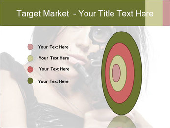 Woman Sniper PowerPoint Templates - Slide 84