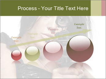 Woman Sniper PowerPoint Templates - Slide 87