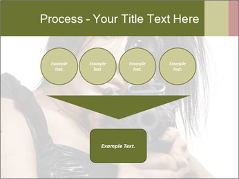 Woman Sniper PowerPoint Templates - Slide 93