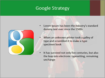Big Red Robot PowerPoint Template - Slide 10