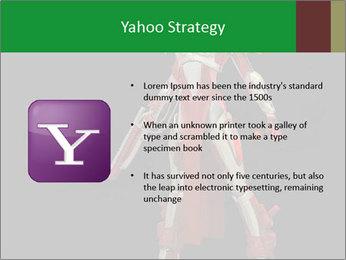 Big Red Robot PowerPoint Template - Slide 11