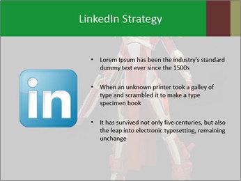 Big Red Robot PowerPoint Template - Slide 12