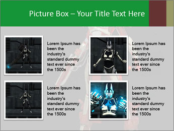 Big Red Robot PowerPoint Template - Slide 14