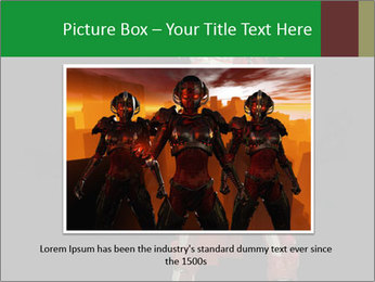 Big Red Robot PowerPoint Template - Slide 15