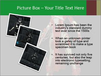 Big Red Robot PowerPoint Template - Slide 17
