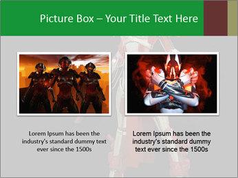 Big Red Robot PowerPoint Template - Slide 18