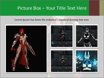 Big Red Robot PowerPoint Template - Slide 19