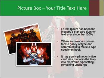 Big Red Robot PowerPoint Template - Slide 20