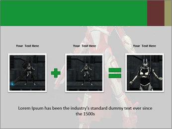 Big Red Robot PowerPoint Template - Slide 22
