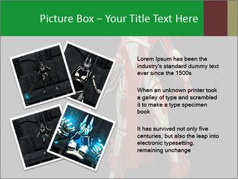 Big Red Robot PowerPoint Template - Slide 23