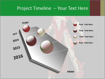 Big Red Robot PowerPoint Template - Slide 26