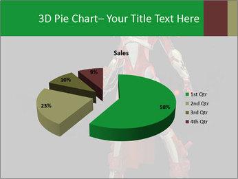 Big Red Robot PowerPoint Template - Slide 35