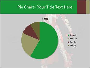Big Red Robot PowerPoint Template - Slide 36
