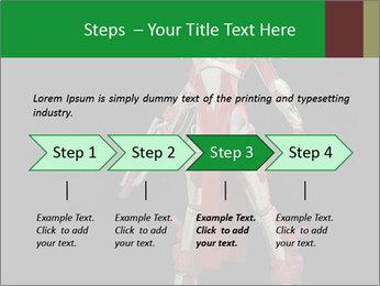 Big Red Robot PowerPoint Template - Slide 4