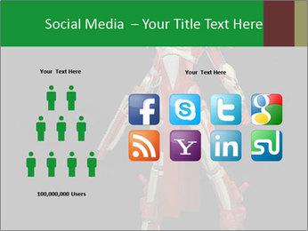 Big Red Robot PowerPoint Template - Slide 5