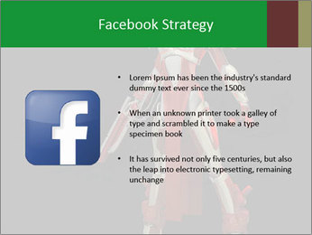 Big Red Robot PowerPoint Template - Slide 6