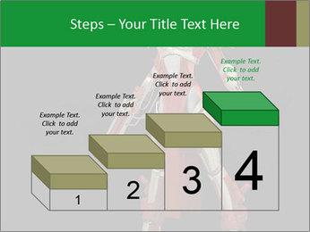 Big Red Robot PowerPoint Template - Slide 64