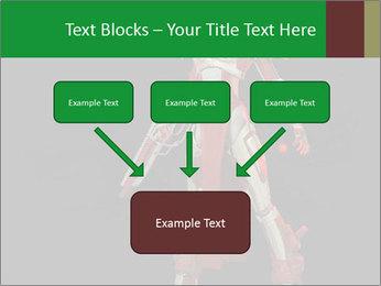 Big Red Robot PowerPoint Template - Slide 70