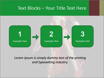 Big Red Robot PowerPoint Template - Slide 71