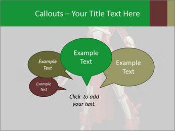 Big Red Robot PowerPoint Template - Slide 73