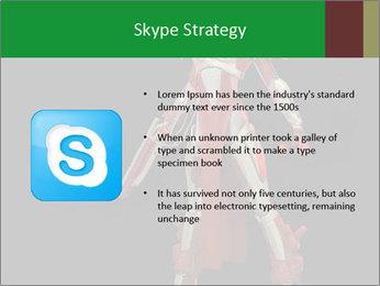 Big Red Robot PowerPoint Template - Slide 8