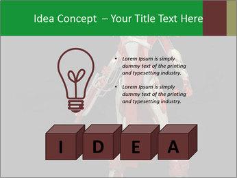 Big Red Robot PowerPoint Template - Slide 80