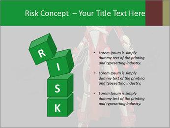 Big Red Robot PowerPoint Template - Slide 81
