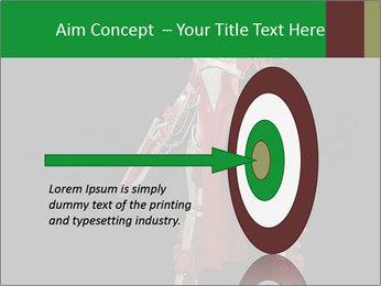 Big Red Robot PowerPoint Template - Slide 83