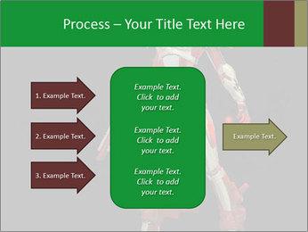 Big Red Robot PowerPoint Template - Slide 85