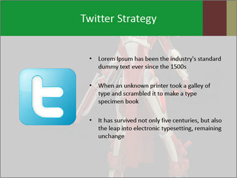 Big Red Robot PowerPoint Template - Slide 9