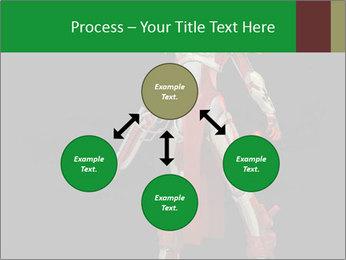 Big Red Robot PowerPoint Template - Slide 91