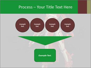 Big Red Robot PowerPoint Template - Slide 93