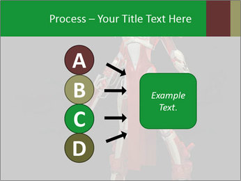 Big Red Robot PowerPoint Template - Slide 94