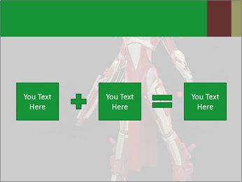 Big Red Robot PowerPoint Template - Slide 95