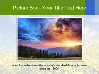 Ukrainian Field Landscape PowerPoint Template - Slide 16